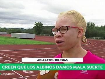 La increíble historia de Adiaratou Iglesias: la atleta más rápida de Galicia es albina y tiene discapacidad visual
