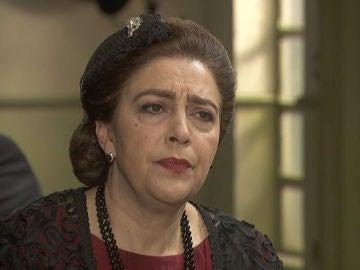 La dura amenaza de Francisca a García Morales