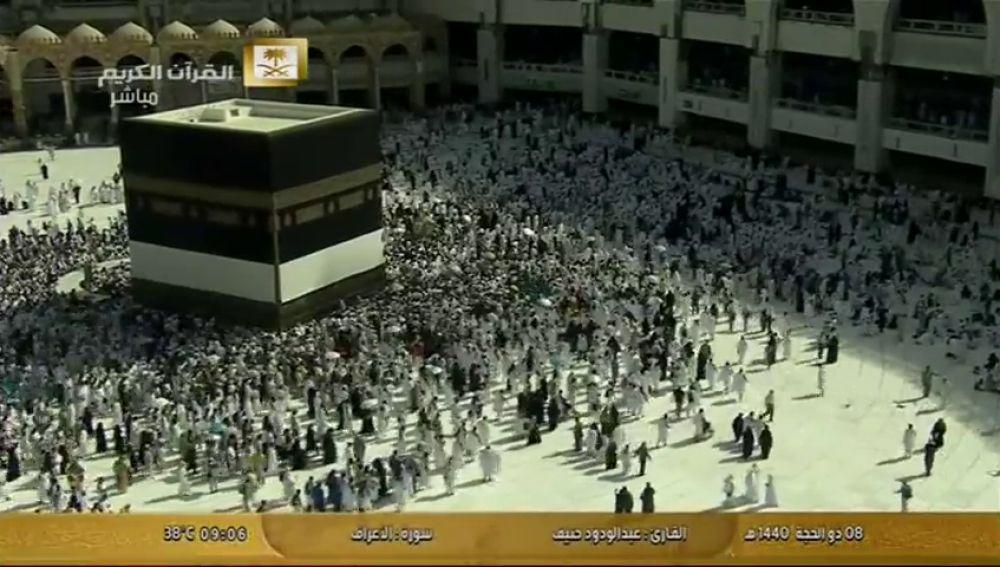 La Meca se prepara para la llegada de dos millones de peregrinos