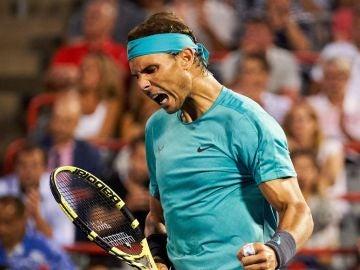 Nadal consigue el pase a cuartos de final del Masters 1.000 de Montreal