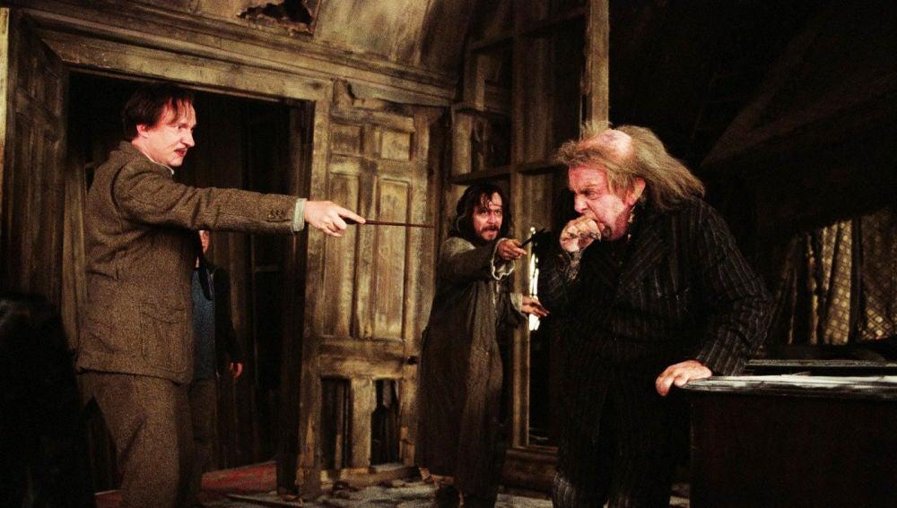 Sirius Black y colagusano en 'Harry Potter'