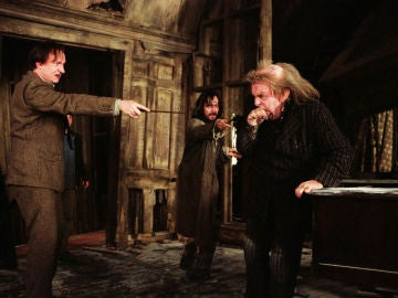 Sirius Black y colagusano en 'Harry Potter'