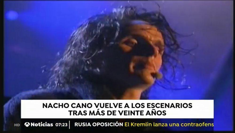 Nacho Cano vuelve a los escenarios 22 años después