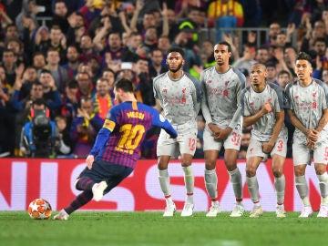 El gol de Messi contra el Liverpool, elegido mejor gol de la UEFA