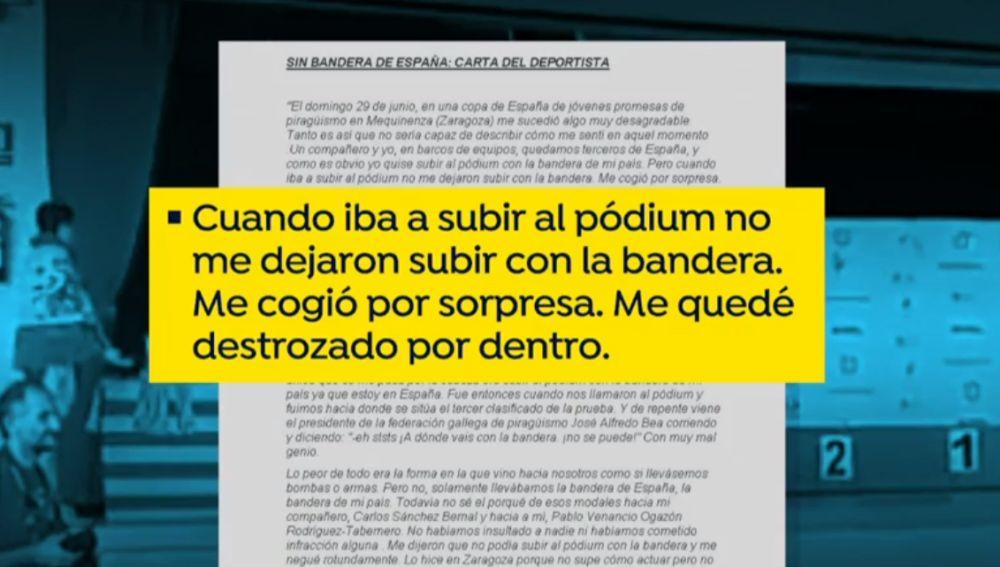La carta de Pablo Ozagón