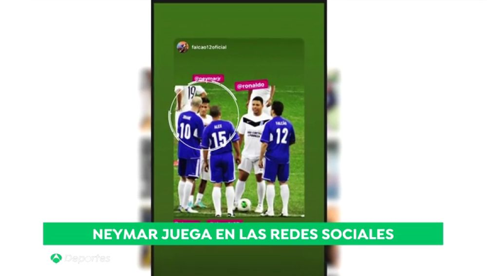 Neymar sube una foto con Zidane y dispara los rumores