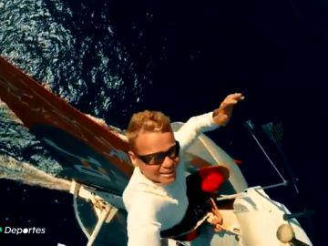 El hito de Álex Pella, nuestro 'Elcano' contemporáneo: tiene el récord mundial de la vuelta al mundo