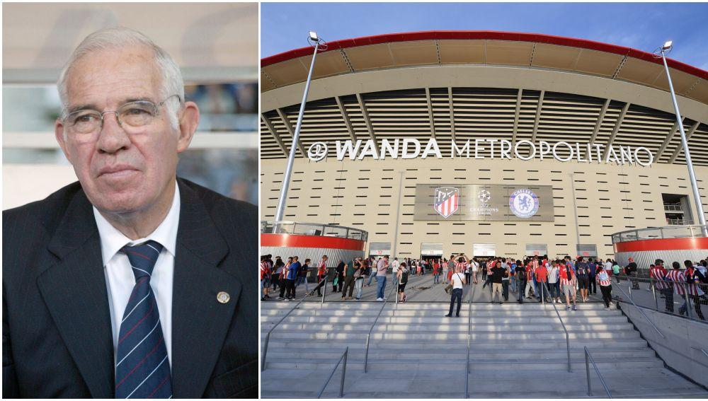 Luis Aragonés tendrá una estatua en el Wanda Metropolitano