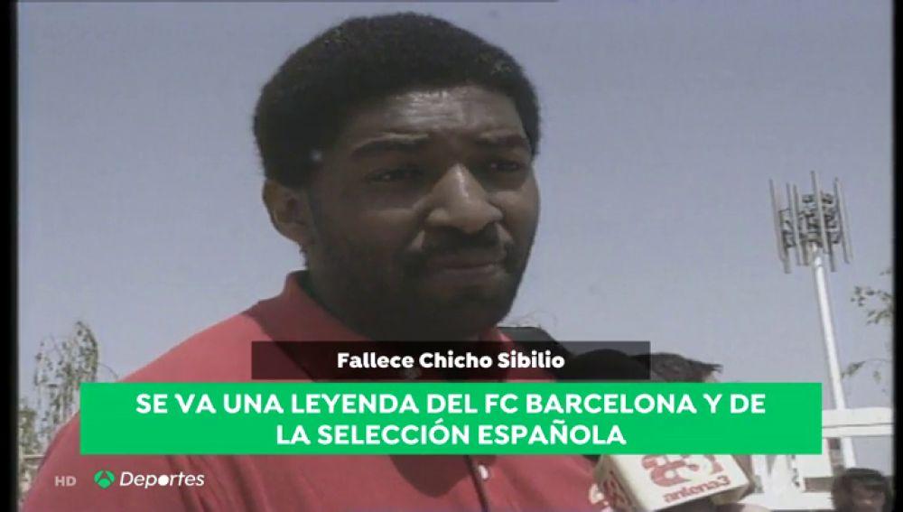 Muere el exjugador de baloncesto de la selección española 'Chicho' Sibilio