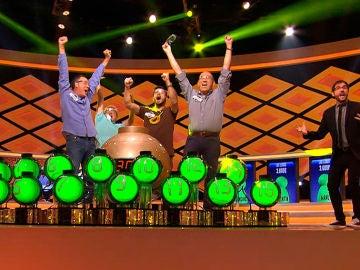 a emoción se mantiene en '¡Boom!': ¿Qué tres equipos han rozado el bote tras la gesta de 'Los Lobos'?