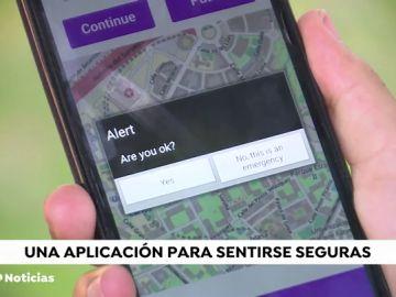 Unas adolescentes crean 'When and Where', una aplicación para que las mujeres vuelvan a casa sin miedo