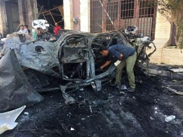 Atentado en Libia