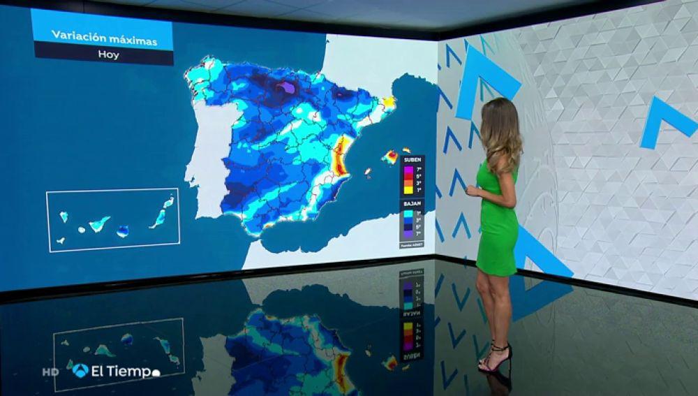 El tiempo inestable regresa este lunes a España
