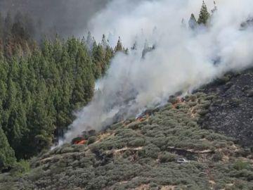 El incendio de Artenara (Gran Canaria)