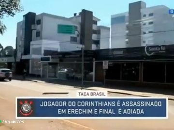 Asesinan al jugador del Corinthians Douglas Nunes tras un tiroteo a la salida de un club nocturno en Brasil