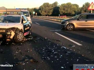 Detenido un kamikaze en Cambrils tras colisionar contra un coche-patrulla