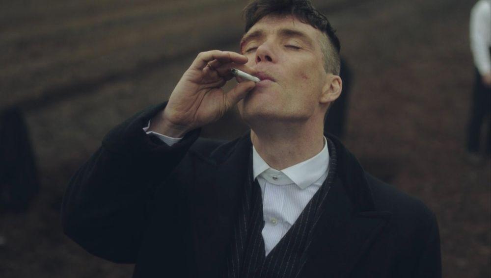 Tomas Shelby en 'Peaky Blinders'