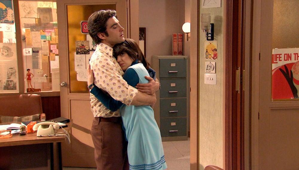 Nieves y Álvaro le ponen nombre a su relación
