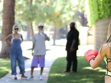 Diana Rinatovna reta a Justin Bieber