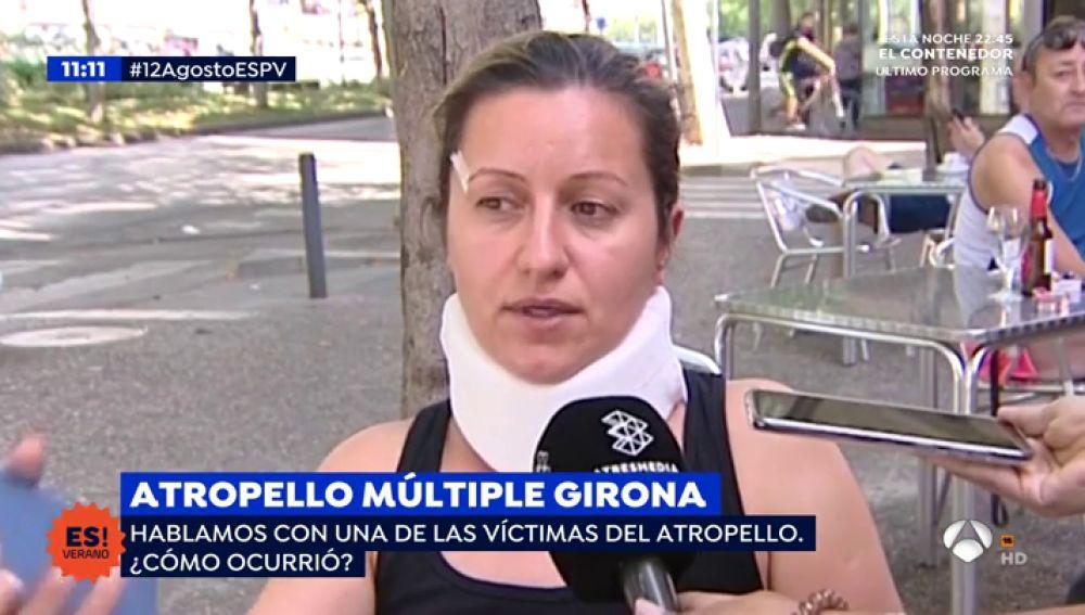 Atropello múltiple en Girona