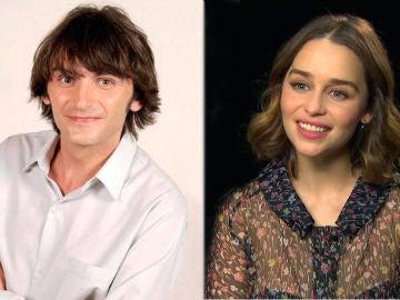 Fernando Tejero y Emilia Clarke