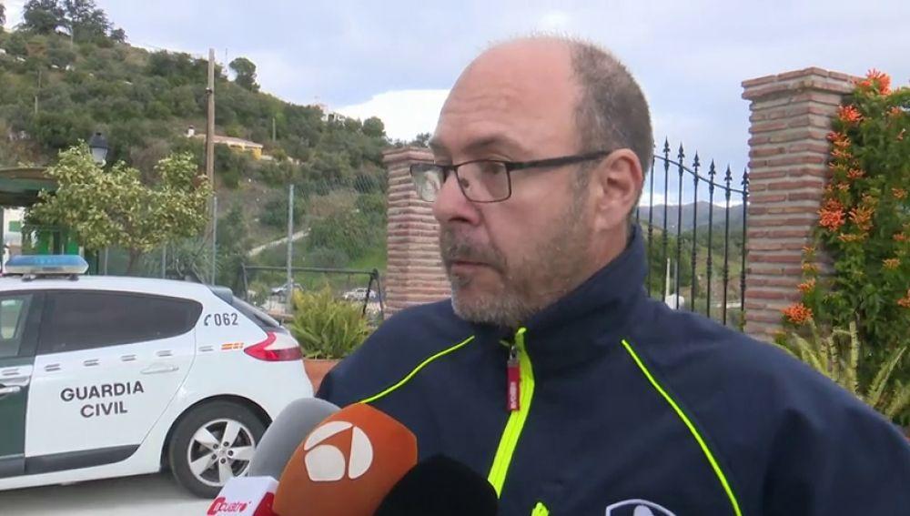 Julián Moreno, cesado como jefe de bomberos de Málaga