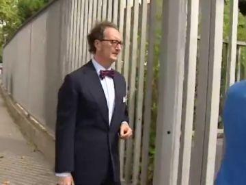 El abogado que pagó la cláusula de Neymar, 'cazado' en las oficinas del Barça