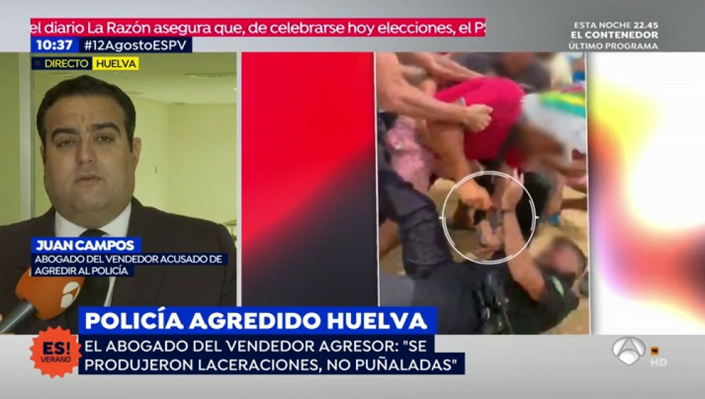 Abogado del vendedor que apuñaló al policía de Punta Umbría