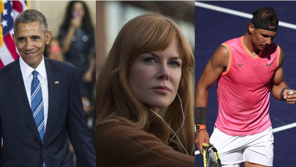 Da Vinci, Obama, Nicole Kidman y Nadal son ejemplos de famosos en los que ser zurdo ha influido en su carrera