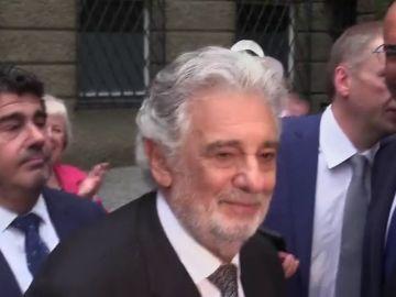 Plácido Domingo, ovacionado en Salzburgo durante su actuación tras el escándalo sobre presuntos abusos sexuales