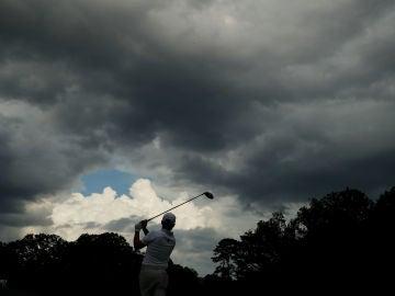 Nubes en el East Lake Golf Club de Atlanta