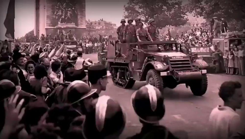 Se cumple el 75 aniversario de La Nueve, los exiliados españoles que liberaron París de los nazis