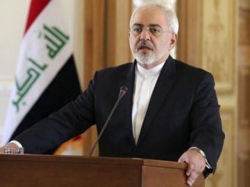 El ministro de Exteriores iraní, Mohamad Yavad Zarif