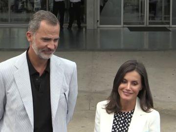 Felipe VI y la Reina Letizia acuden al hospital para visitar a Don Juan Carlos