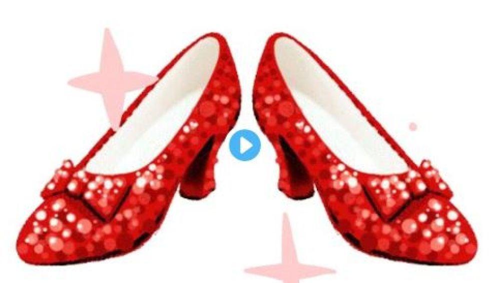 Los zapatos de Dorothy en 'El Mago de Oz'