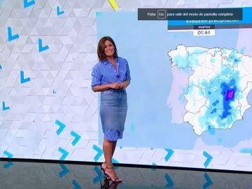 Cielos cubiertos y precipitaciones muy probables en la mayor parte del país