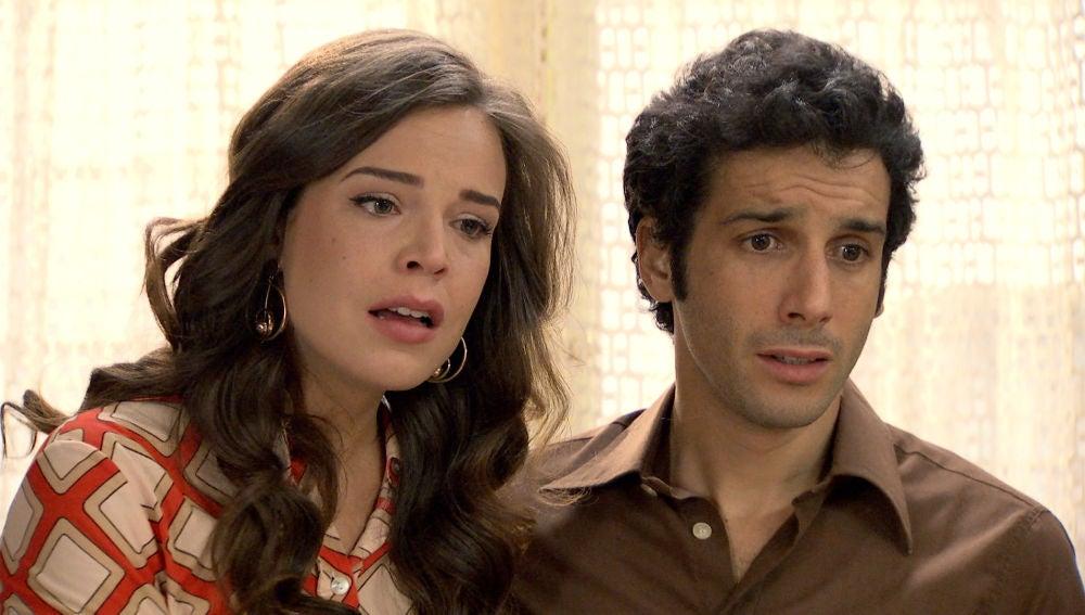 María e Ignacio reciben una noticia inesperada que cambiará sus vidas