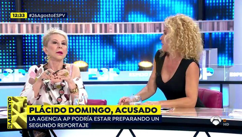 Karmele Marchante sobre las acusaciones a Plácido Domingo
