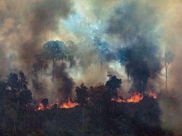 Incendio Bolivia