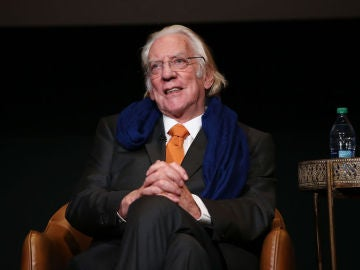 El actor Donald Sutherland