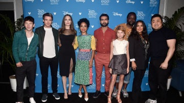 Angelina Jolie, Richard Madden, Salma Hayek y el resto de 'Los Eternos'