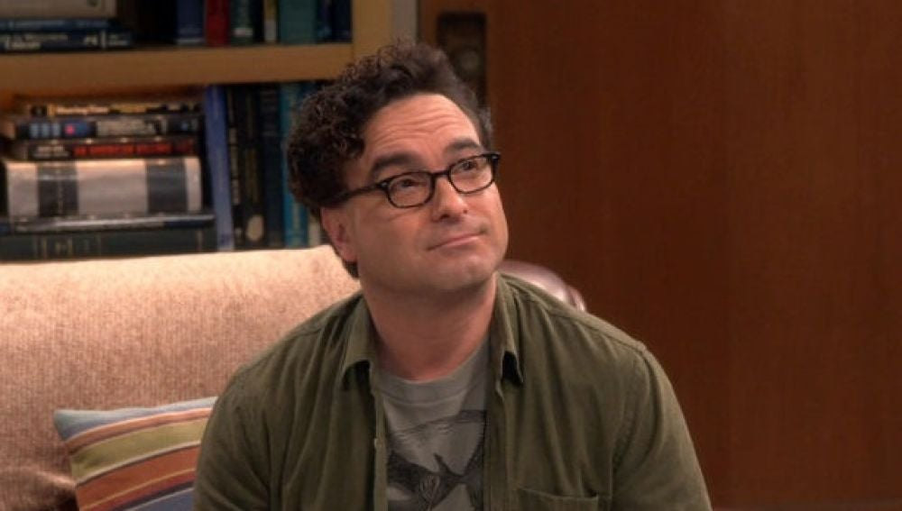 Leonard en 'The Big Bang Theory' interpretado por Johnny Galecki