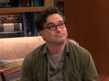 Leonard en 'The Big Bang Theory' interpretado por Johnny Galecki