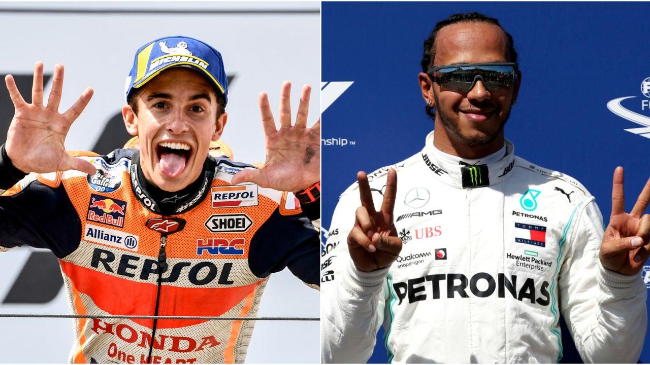 Marc Márquez Reta A Lewis Hamilton: Vota, ¿quién Ganaría