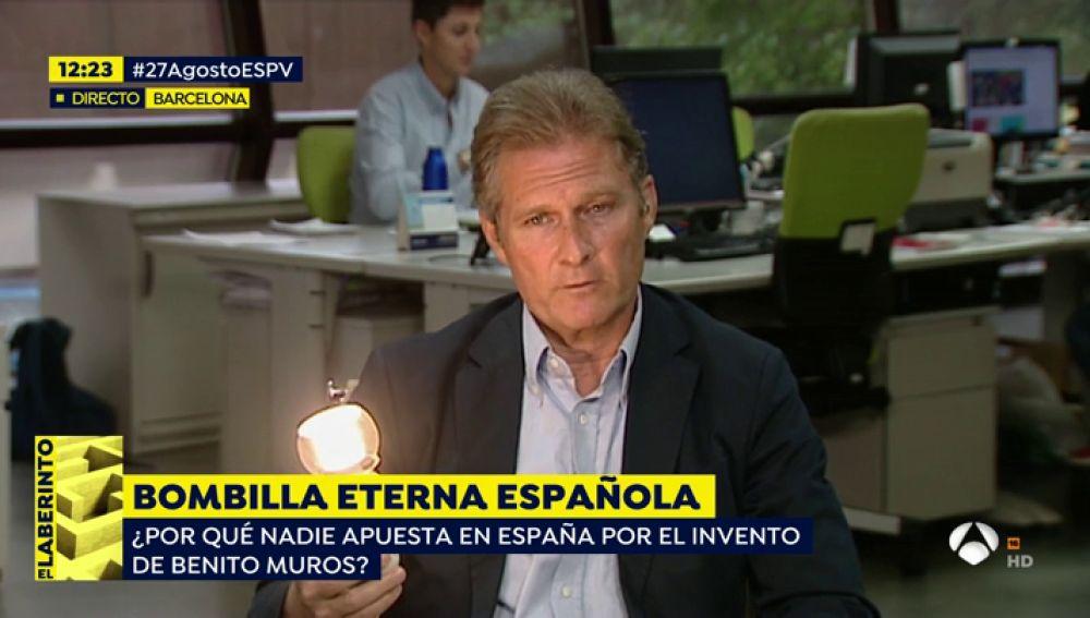 Un español fabrica una bombilla eterna pero no logra comercializarla