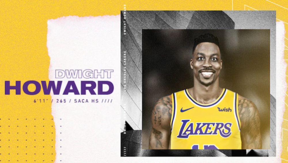 Howard ya es de los Lakers