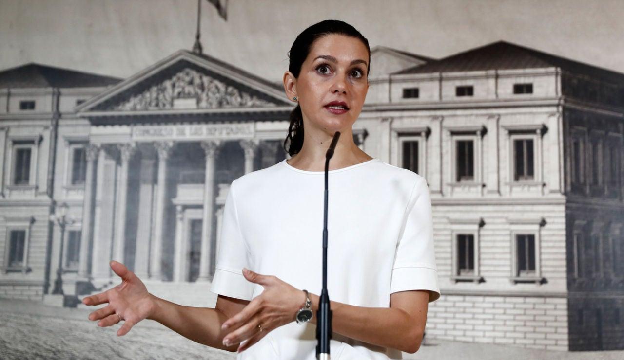 Inés Arrimadas en el Congreso