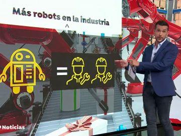 Los robots destruyen 400.000 puestos de trabajo en Europa