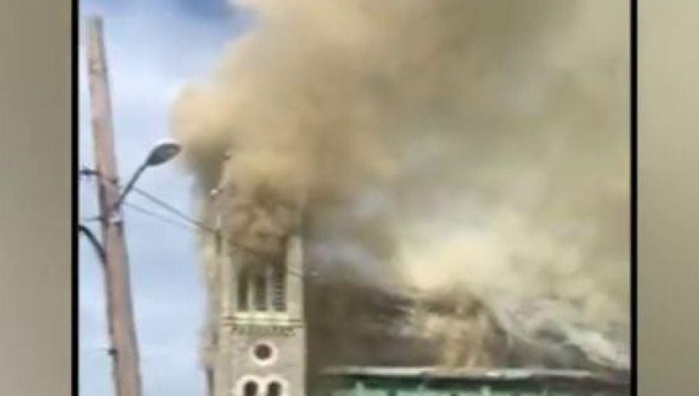 Incendio en Filadelfia