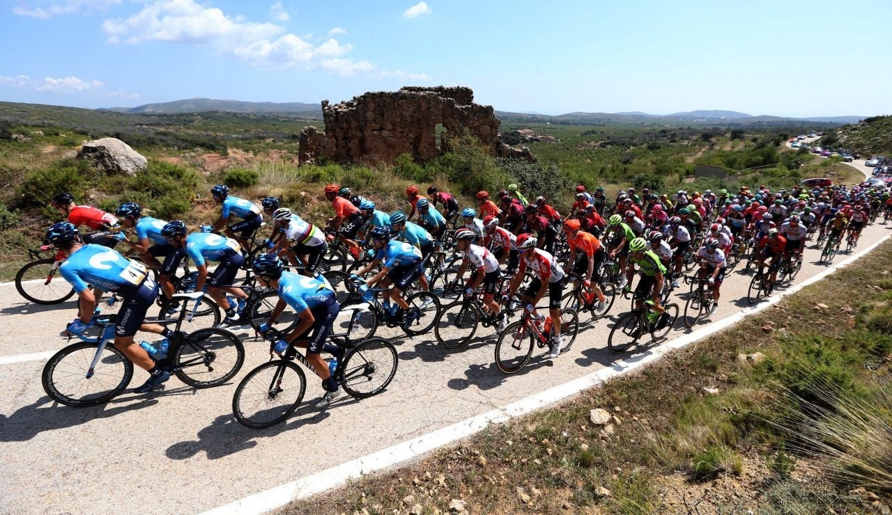 Una imagen de la Vuelta a España